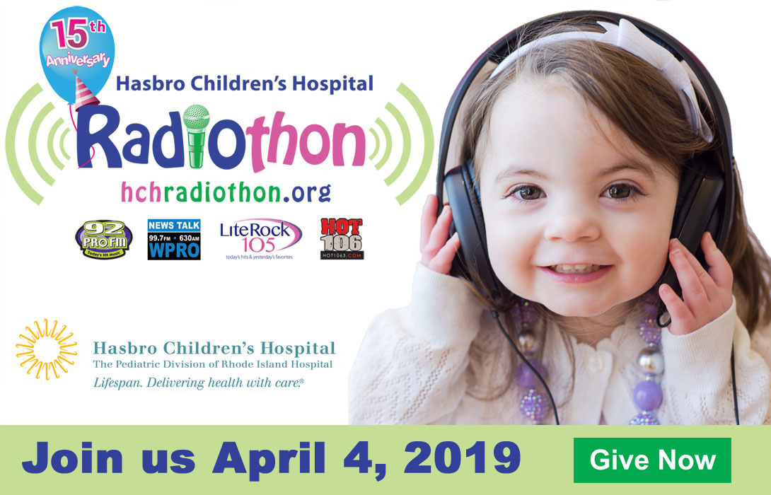 Hasbro Children's Hospital Radiothon