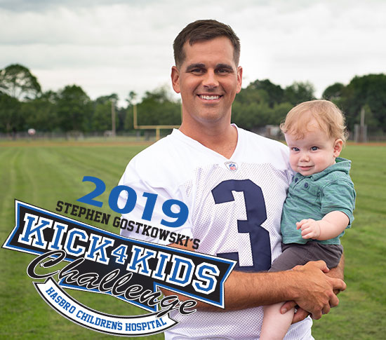 Stephen Gostkowski's Kick for Kids