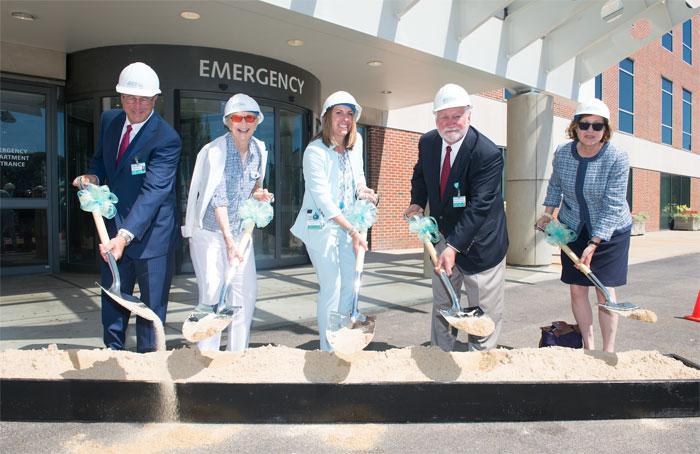 Newport Hospital Groundbreaking Event