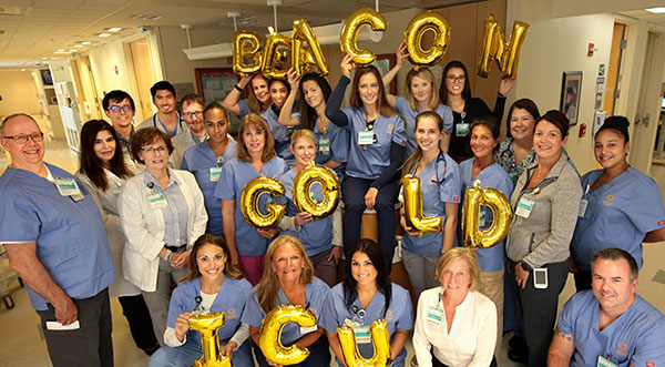 Intensive Care Unit Earns Gold