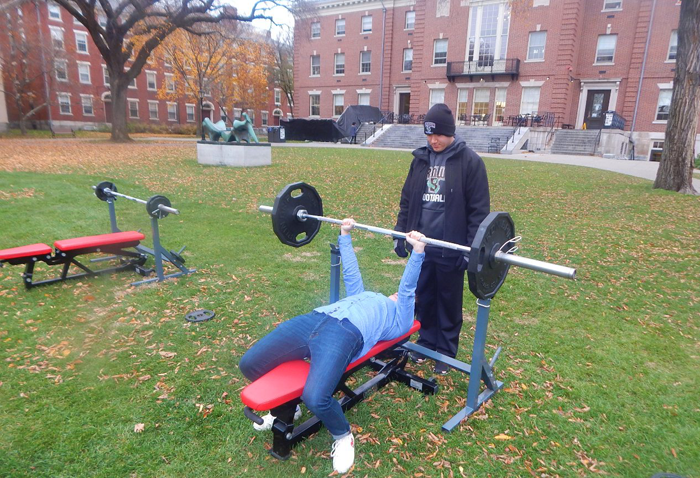 Brown University Benchpress for Cancer