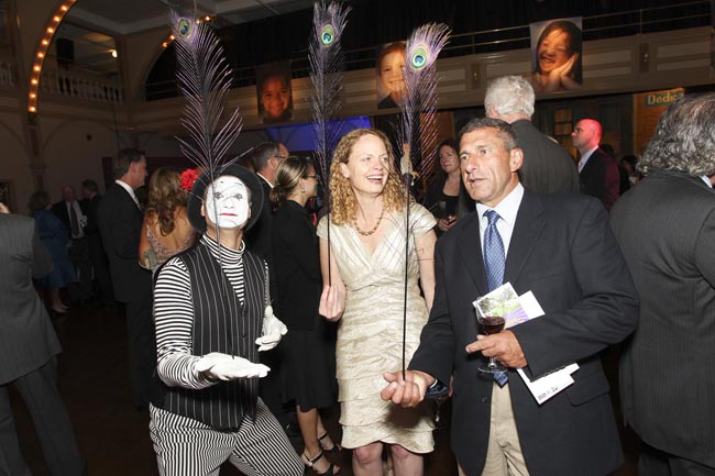 Mime and Guests