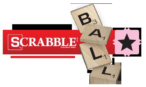 Scrabble Ball Logo