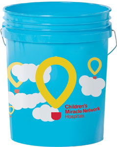 ACE hardware blue bucket