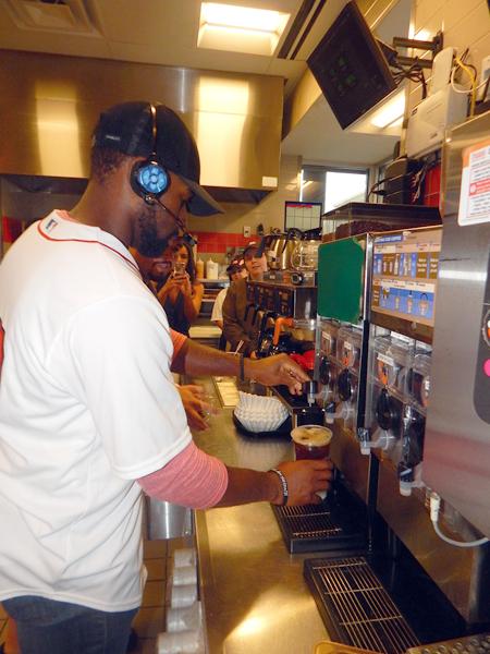 Jackie Bradley, Jr. Iced Coffee Day
