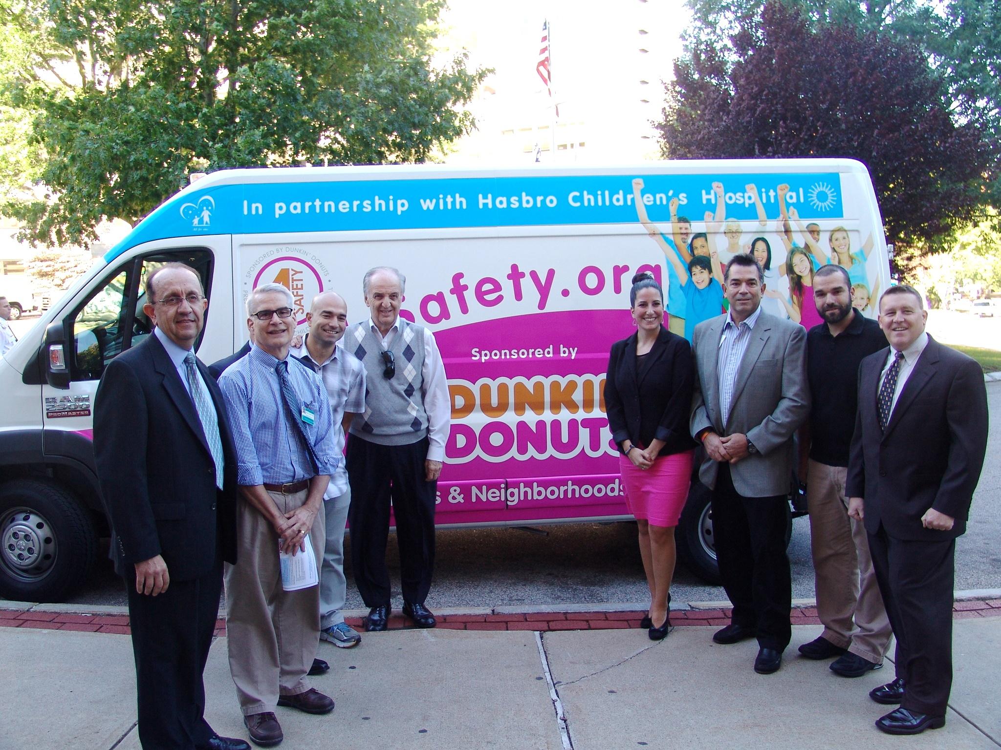 Dunkin Donuts 4 Safety Van