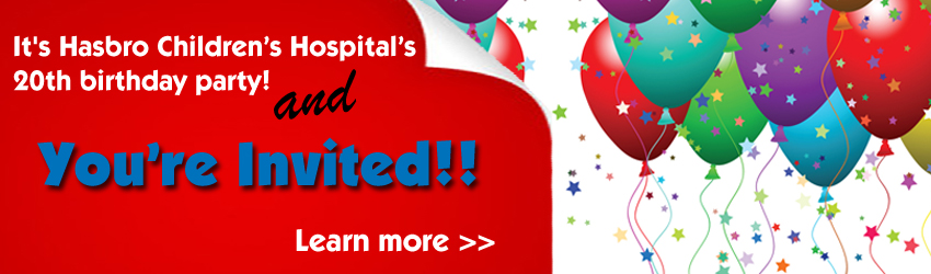 Hasbro, Inc. Supports Hasbro Children's Hospital