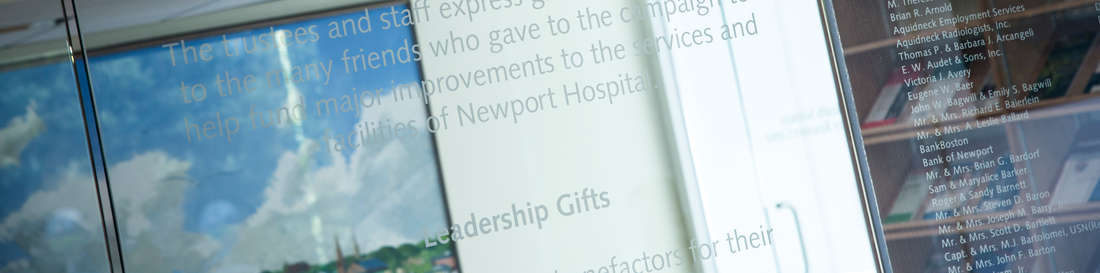 Newport Donor Wall