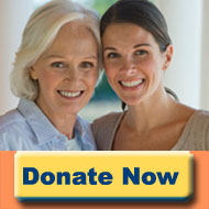Donate Now Mom and Daughter