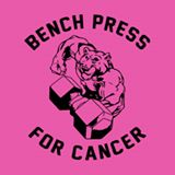 Bench press for cancer logo
