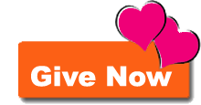 Give Now Button Orange with hearts