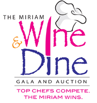 The Miriam Hospital Wine and Dine Logo